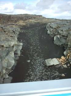 Keflavik Peninsula - Mid-Atlantic Rift - photo by Susan Smith Nash